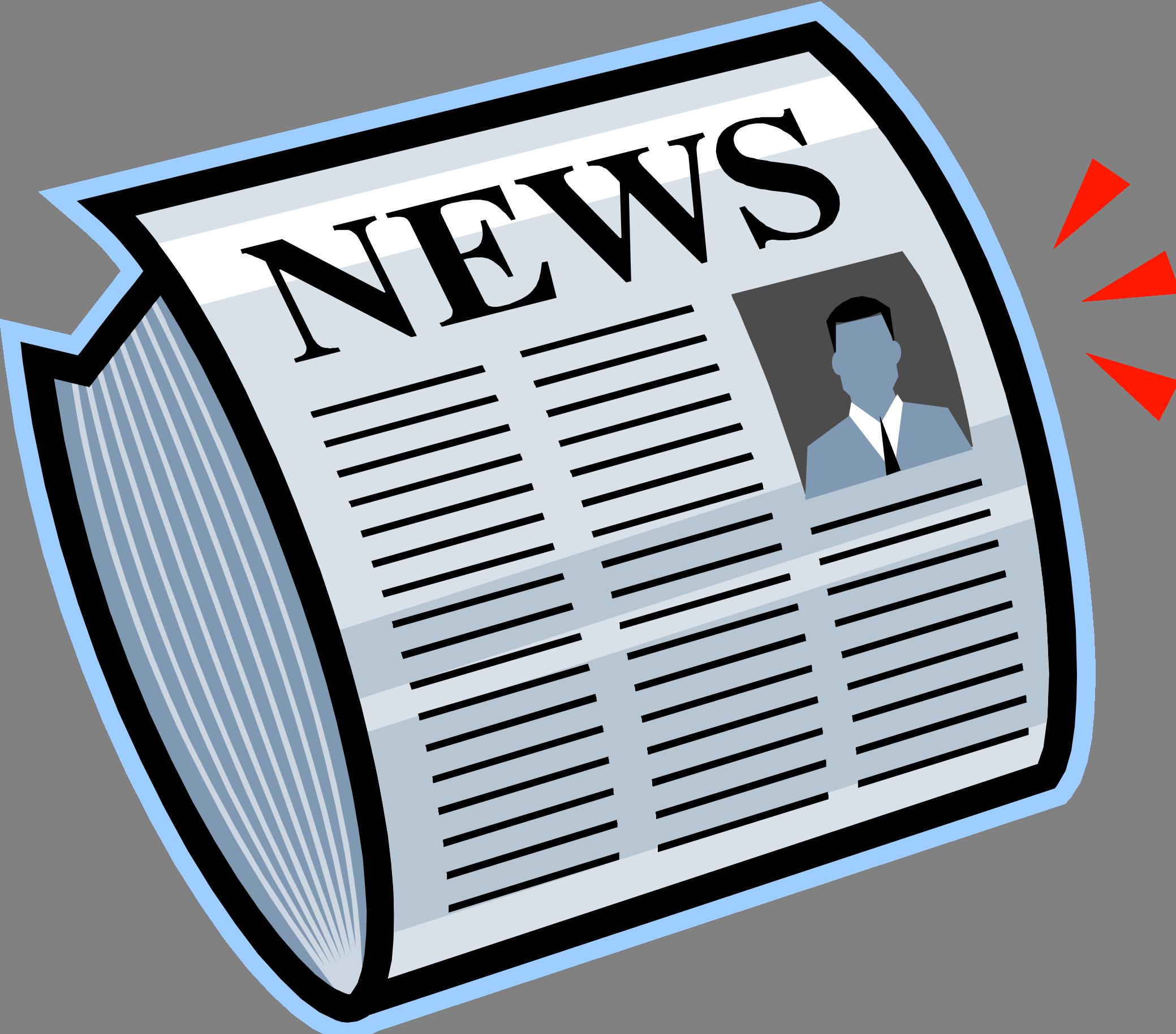 Gma condo spring edition. Newsletter clipart news alert