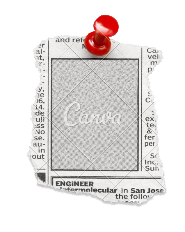 Newspaper clipart newspaper clipping. Template choice image design