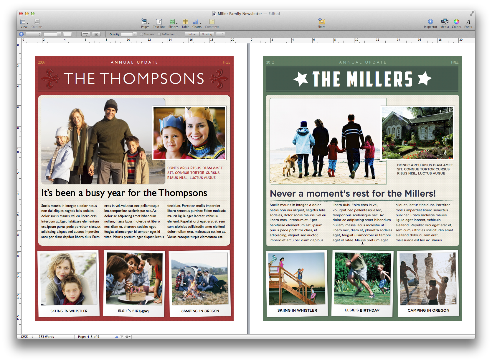 How to create a. Newsletter clipart newspaper front page