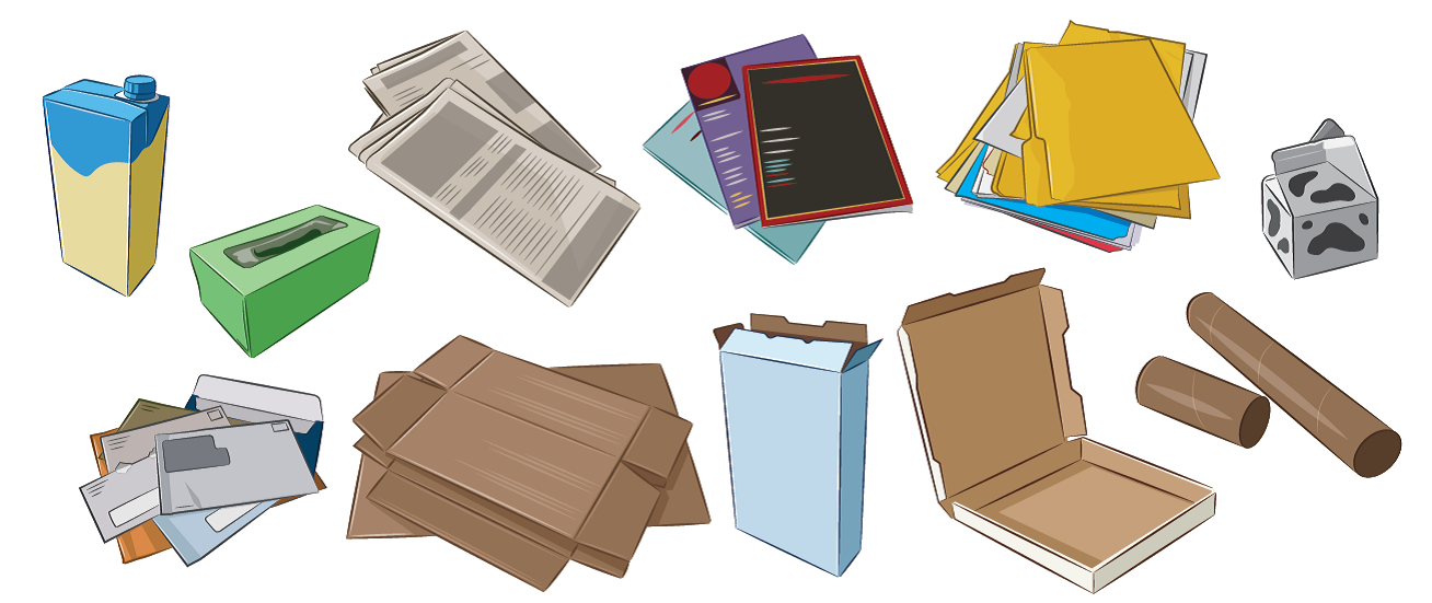 Des residental monroe county. Newsletter clipart paper recycling