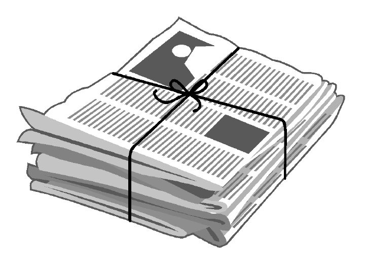 News free download best. Newsletter clipart paper recycling