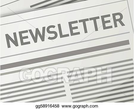 Vector illustration design eps. Newsletter clipart publication