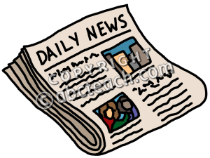 Newspaper at getdrawings com. News clipart news paper