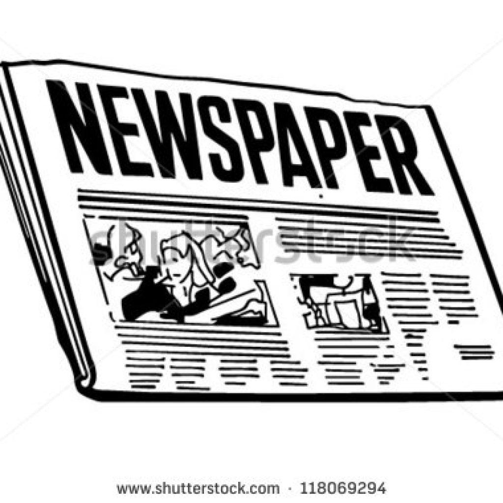 Newspaper clipart. Dinosaur hatenylo com panda