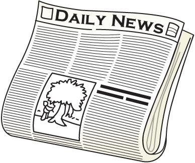 News clipart newpaper. Free newspaper clip art