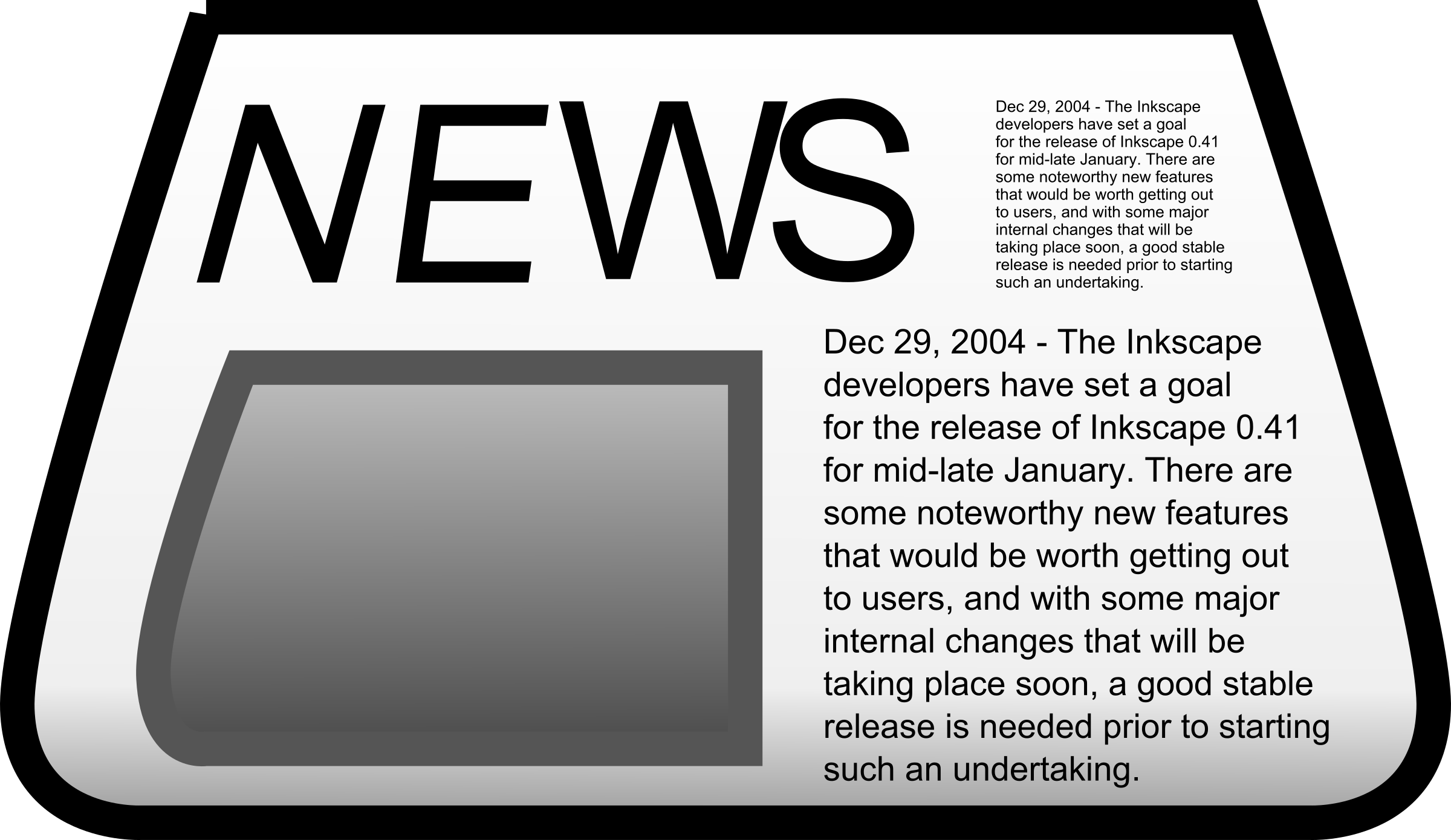 Newspaper clipart edition. Big image png