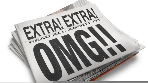 Newspaper clipart extra extra read all about it. Free images at