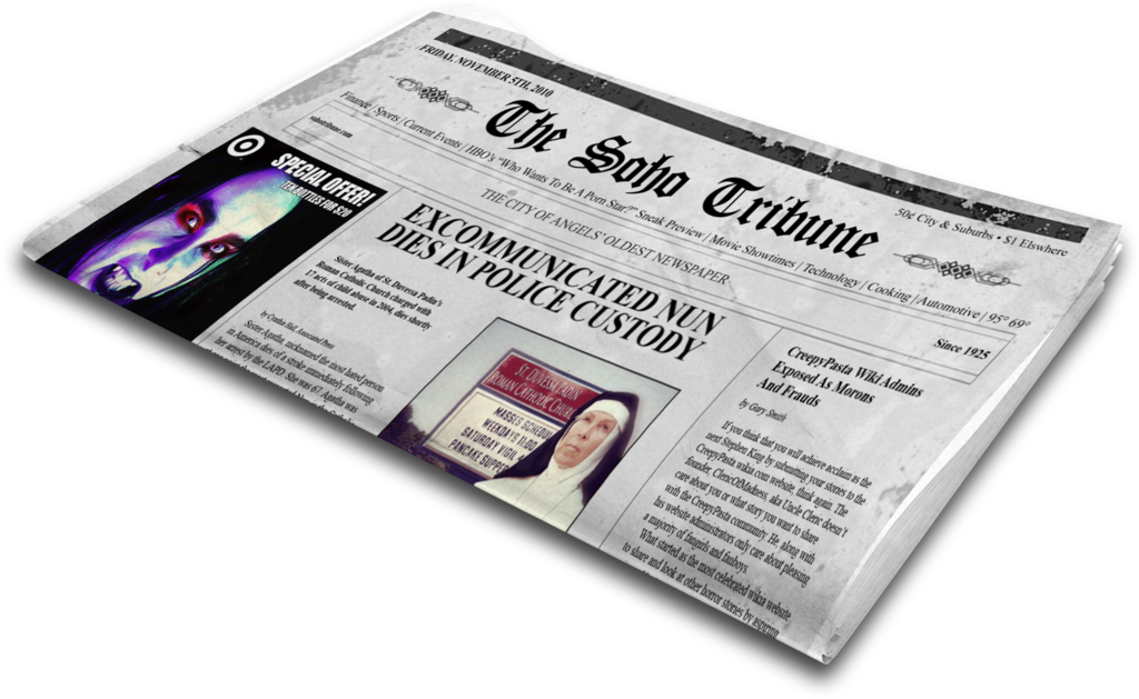 Newspaper clipart newspaper delivery. The soho tribune by