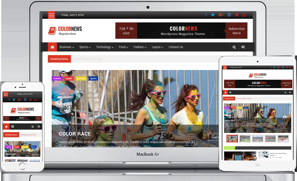 Newspaper clipart newspaper magazine. Colornews free style responsive