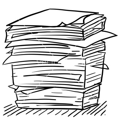 Work free download best. Paper clipart paper pile