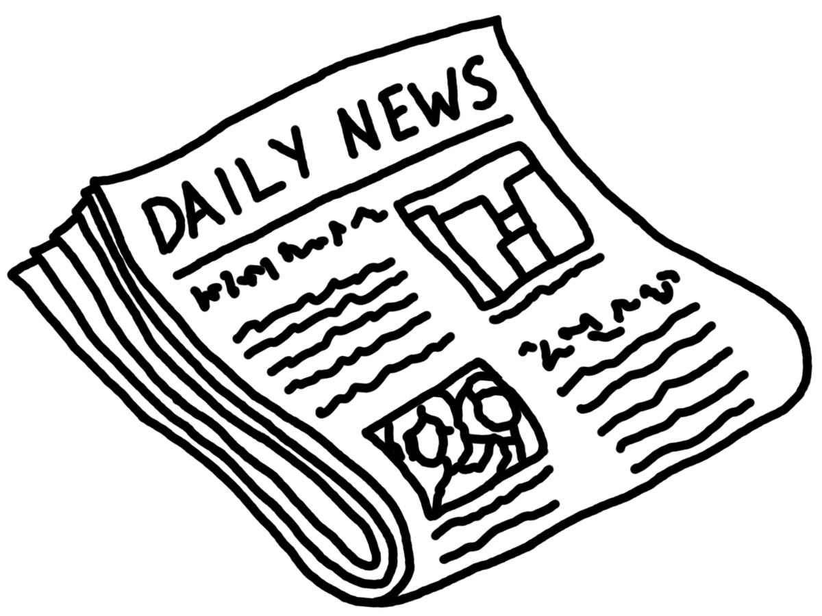 Newspaper panda free images. News clipart news story