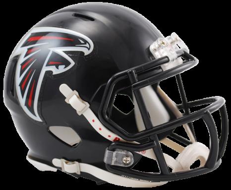 Nfl helmet png. Atlanta falcons speed mini