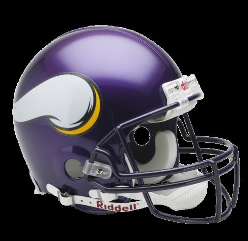Minnesota vikings riddell throwback. Nfl helmet png