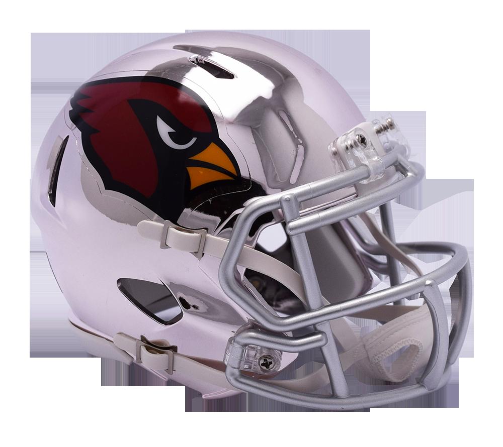 Arizona cardinals riddell chrome. Nfl helmet png