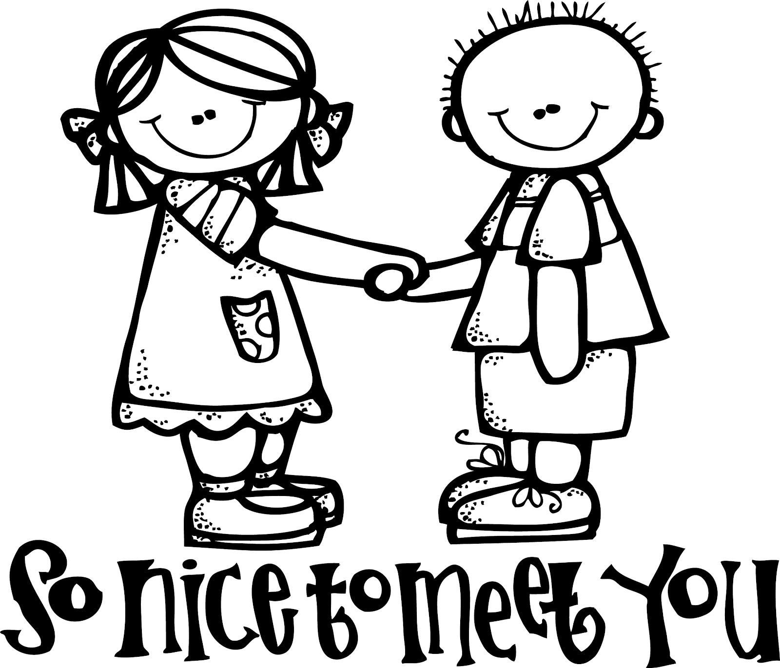 Nice clipart. To meet you