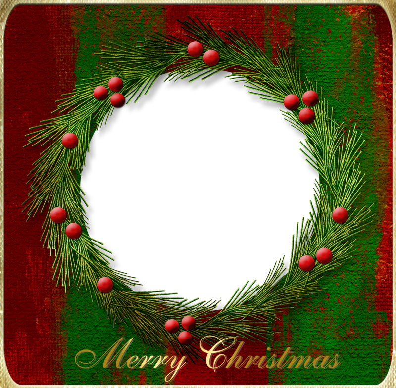 Nice clipart christmas. Transparent png photo frame