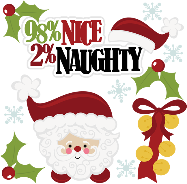 cents naughty svg. Nice clipart christmas