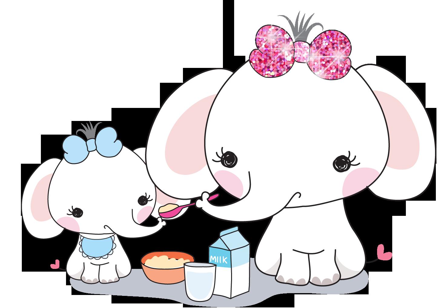 Nice clipart mommy and me. Elle the elephant dek