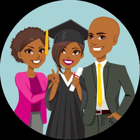 Of graduate free finders. Parent clipart proud parent
