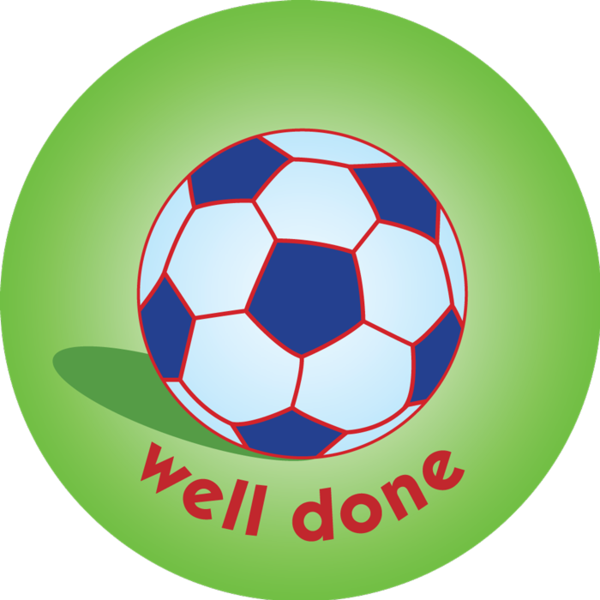 Stamp clipart well done. Football pack of mm