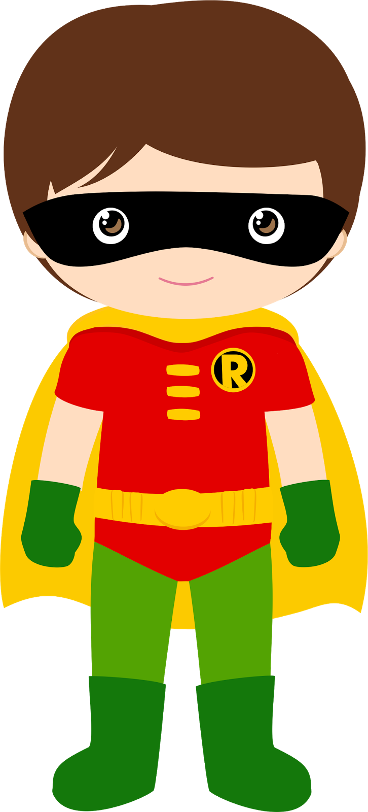 Characters of batman kids. Nice clipart won