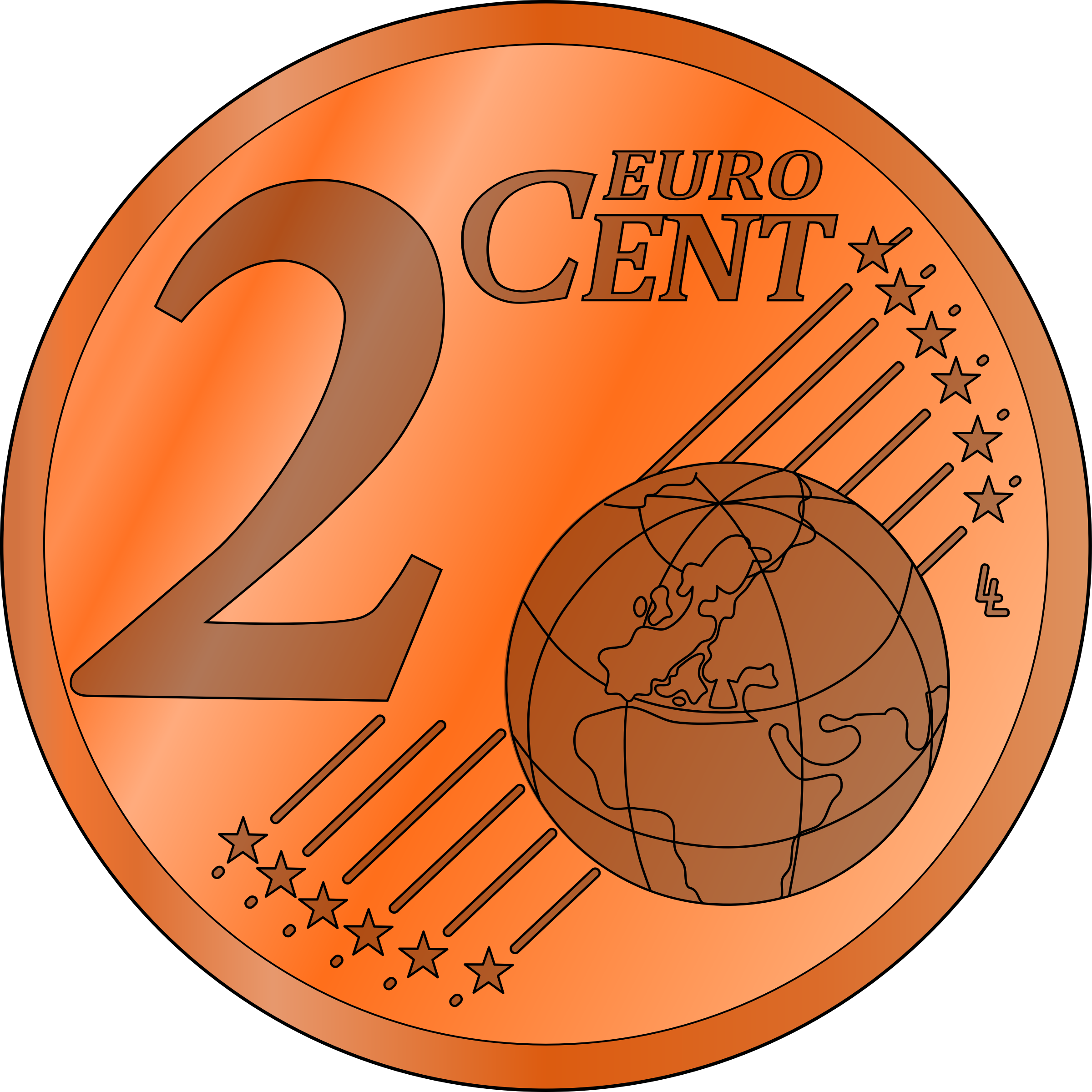 Nickel clipart cent.  collection of euro