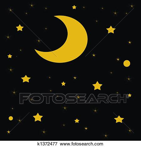 Free starry sky download. Night clipart 11 star