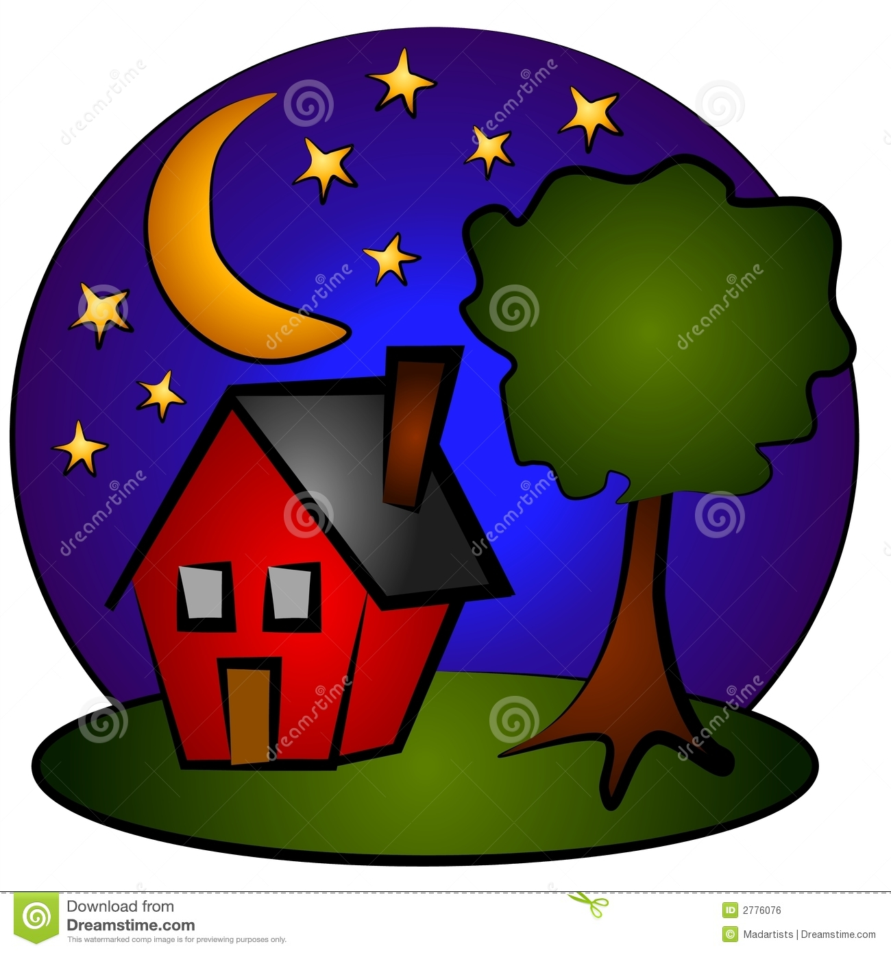 Night clipart. Free images at clker