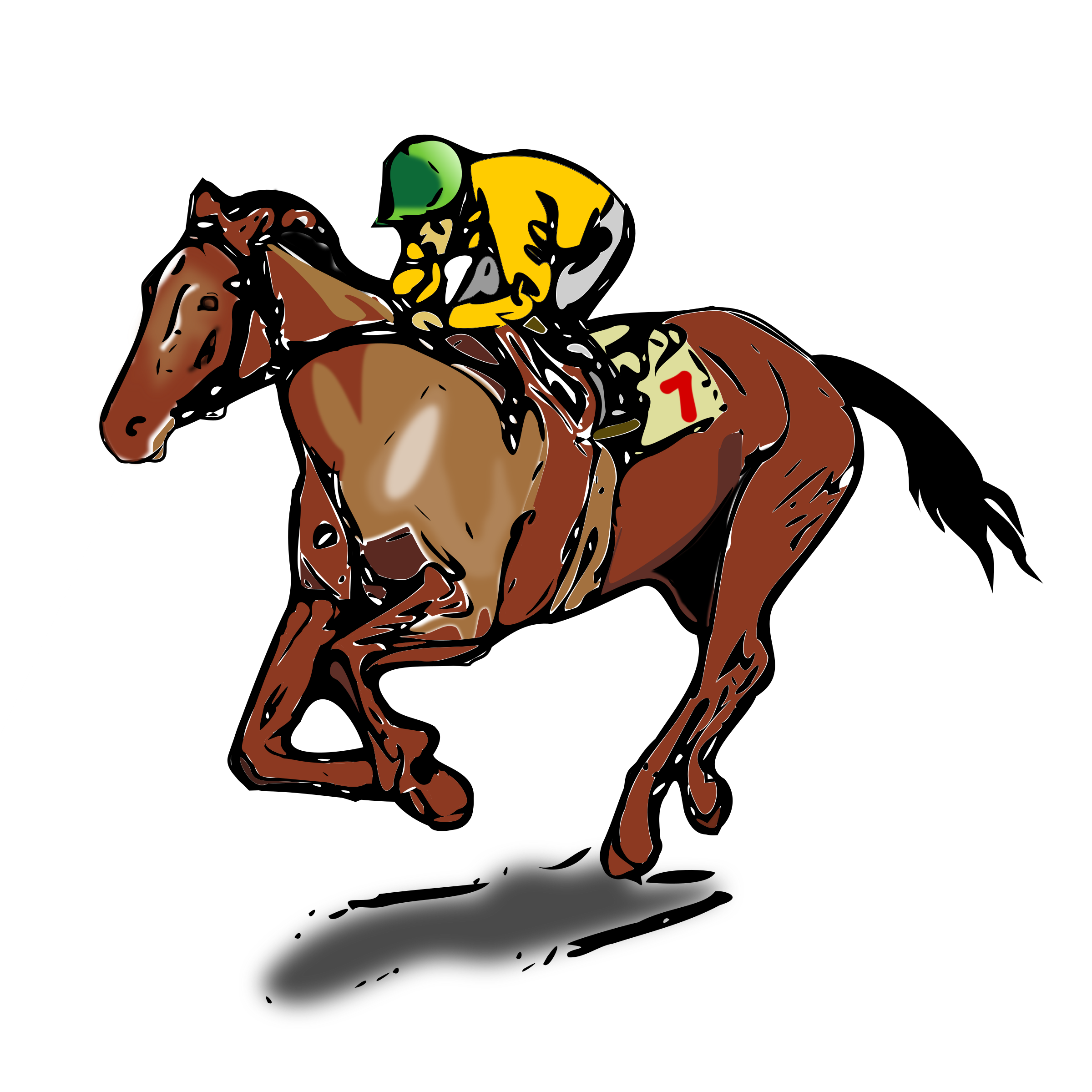 Race clipart demolition derby. Horse racing night free