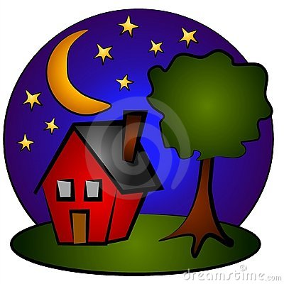Night clipart evening. Free download best on