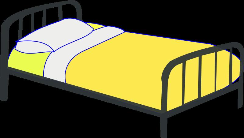 Single medium image png. Night clipart night bed