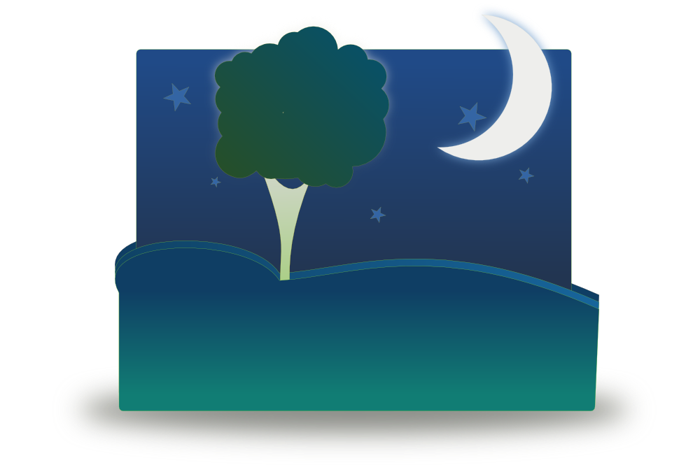 Onlinelabels clip art by. Night clipart night landscape