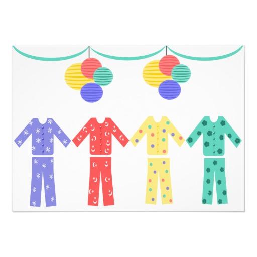 Pajamas clipart border. Free pajama party download