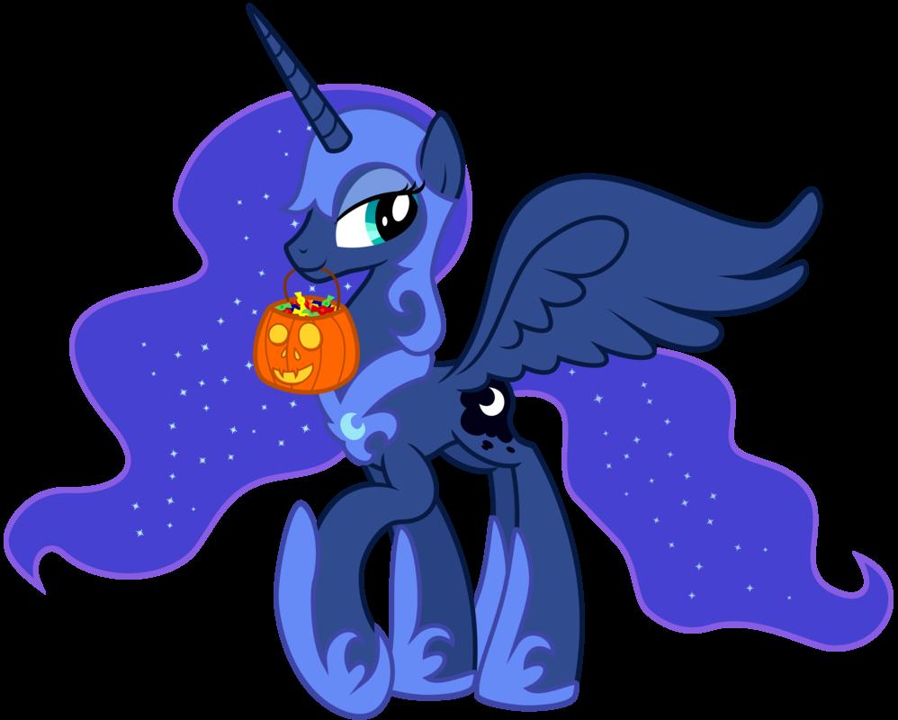 Princess luna nightmare costume. Night clipart royal blue