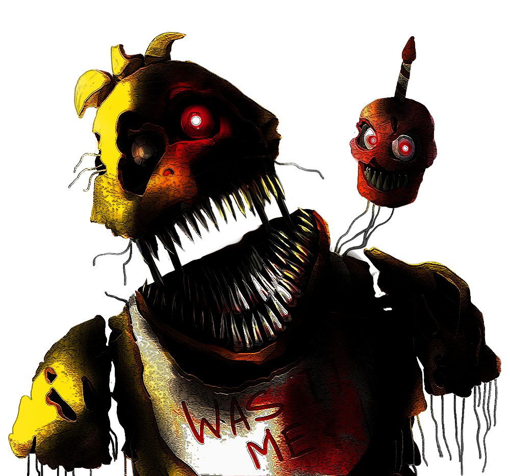 Nightmare chica by shootersp. Night clipart scary night