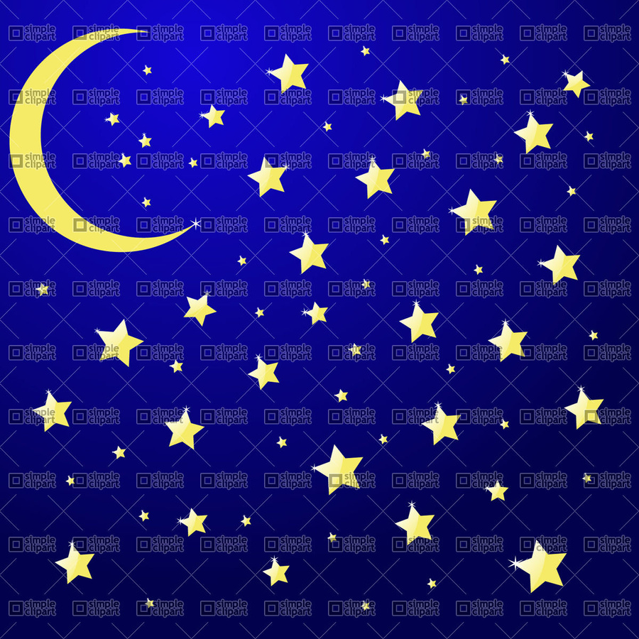 Night clipart star. Download stars in the
