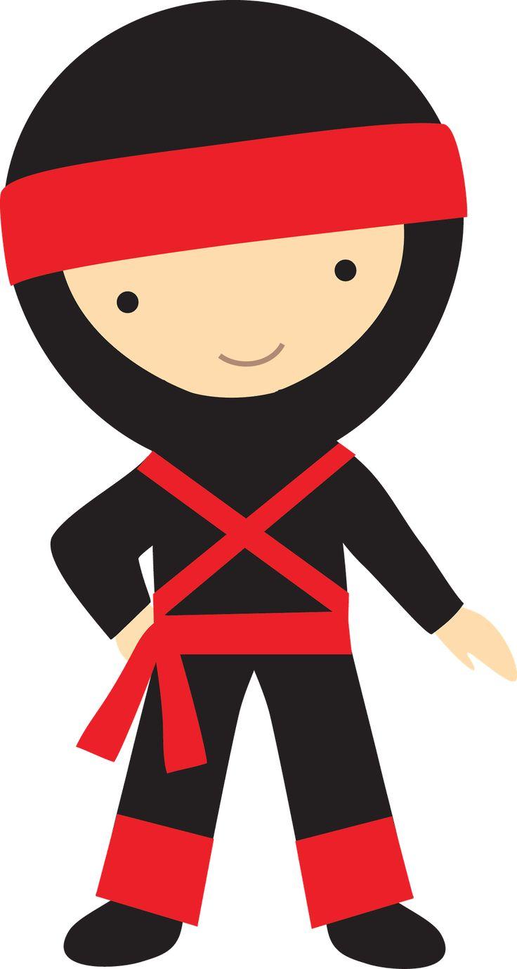 Ninja clipart.  collection of kid