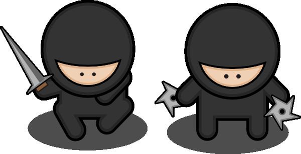 Cartoon . Ninja clipart