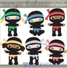 Super heroes dorky doodles. Ninja clipart