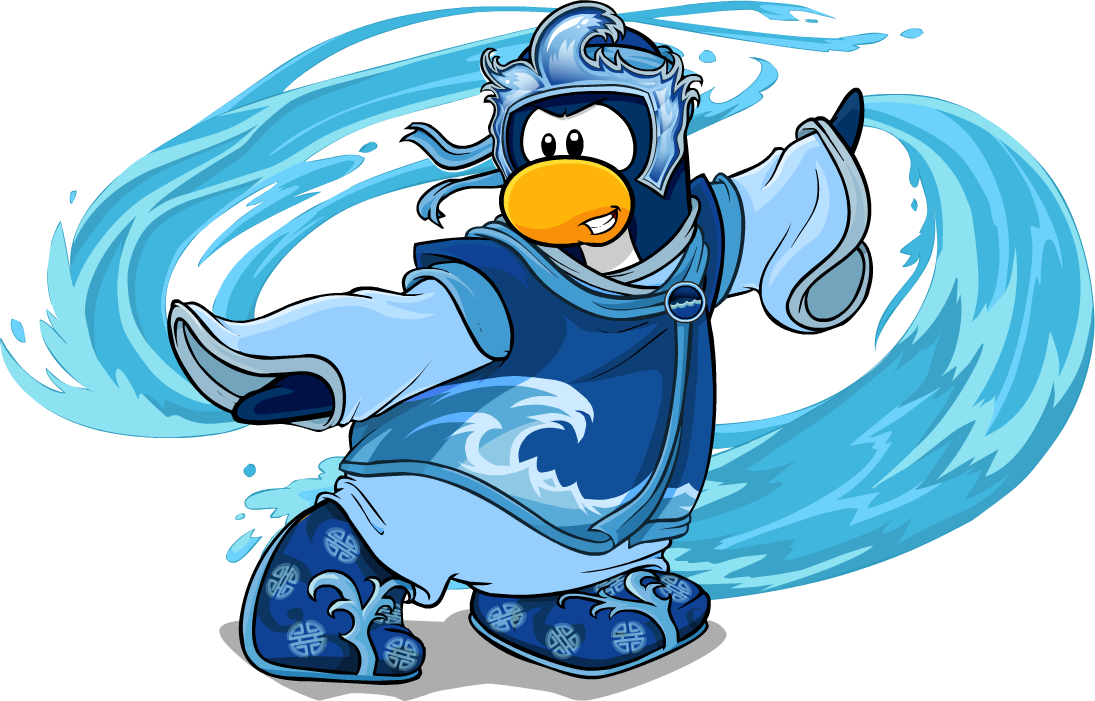 Image ninja pose with. Water clipart character