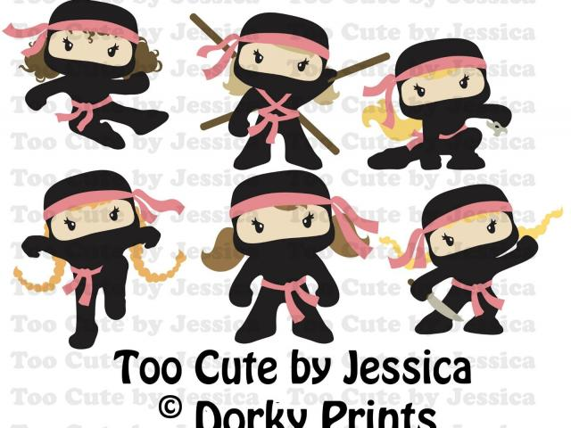 Free download clip art. Ninja clipart cartoon chinese
