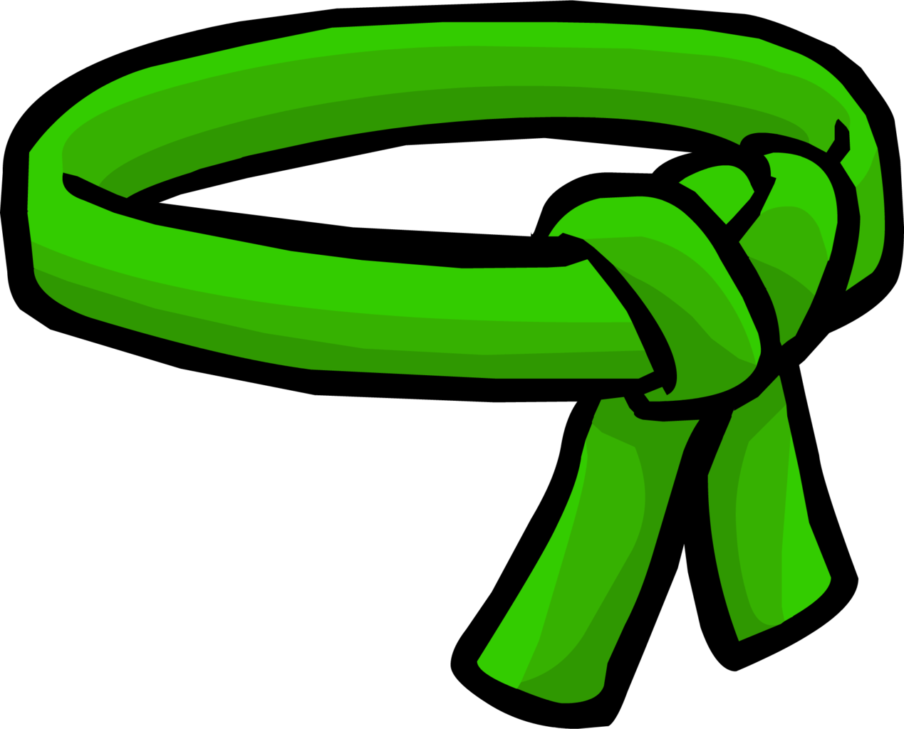 Ninja green ninja