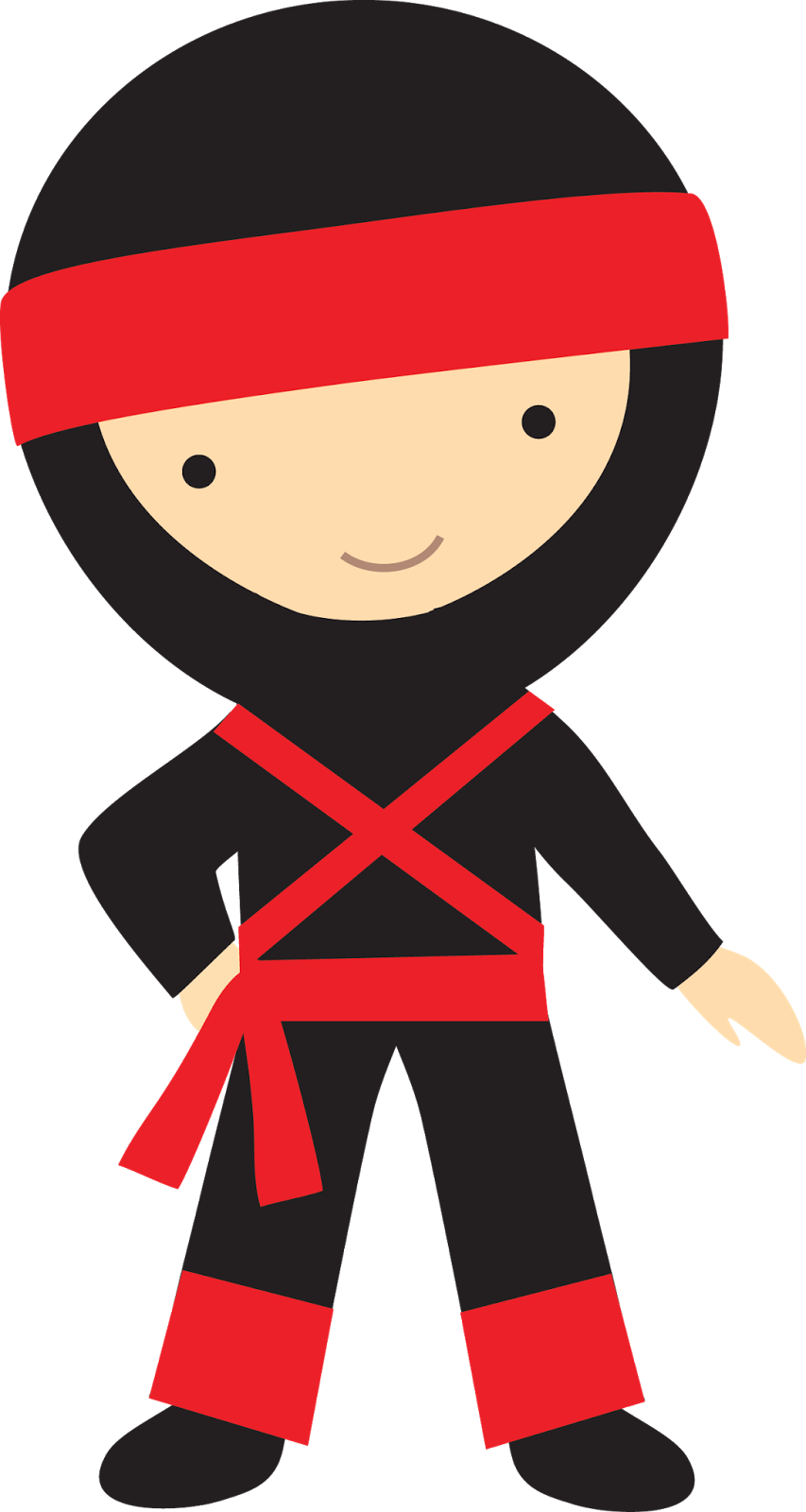 Ninja clipart kid ninja.  collection of halloween