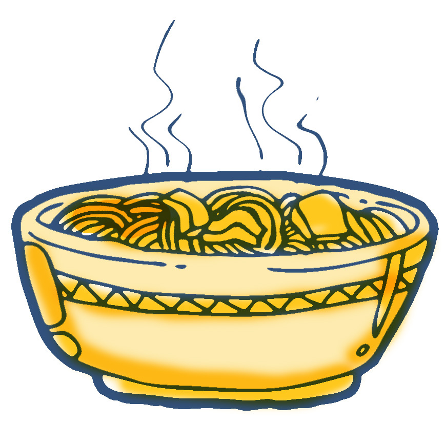 Free . Noodles clipart