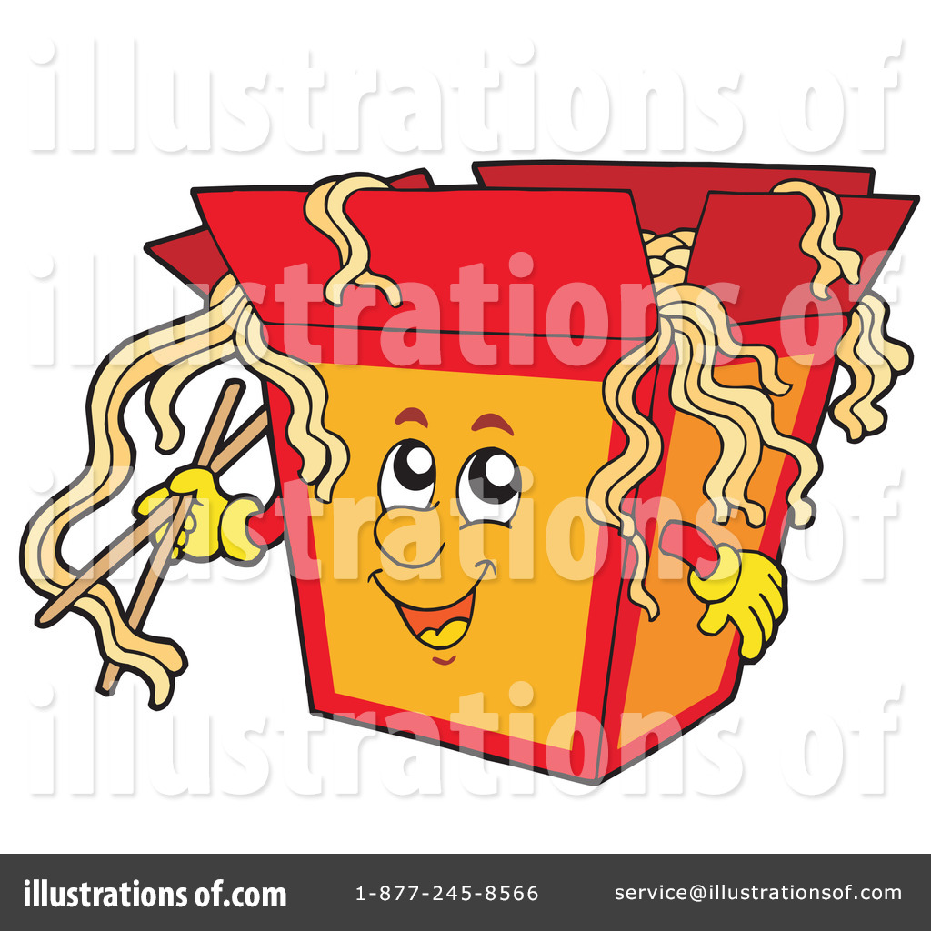 Noodle clipart. Noodles illustration by visekart