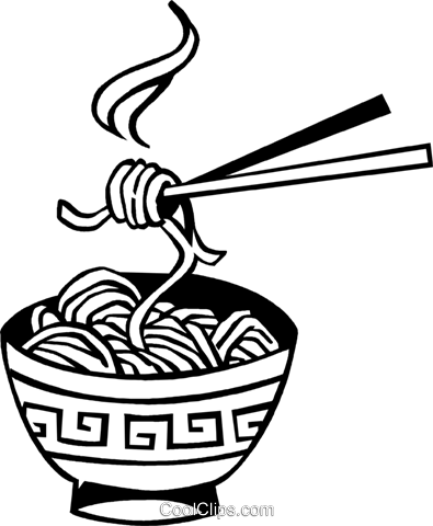 Collection of noodles free. Noodle clipart bowl drawing