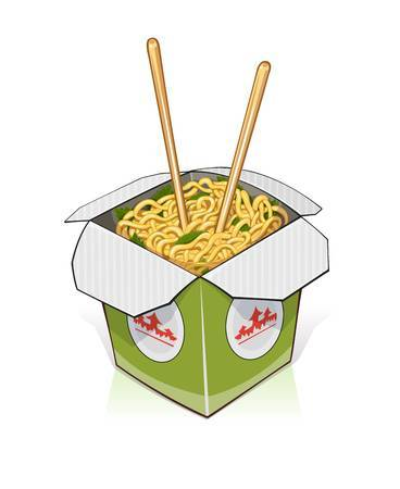 Noodle clipart box. Download for free png