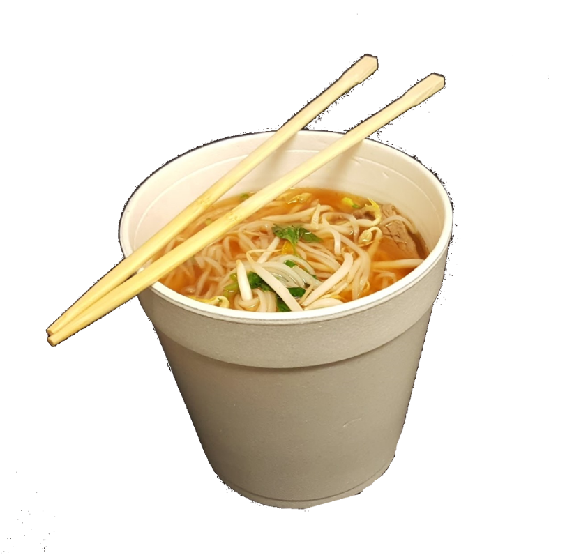 Noodles clipart dinner chinese. Pho by samurai