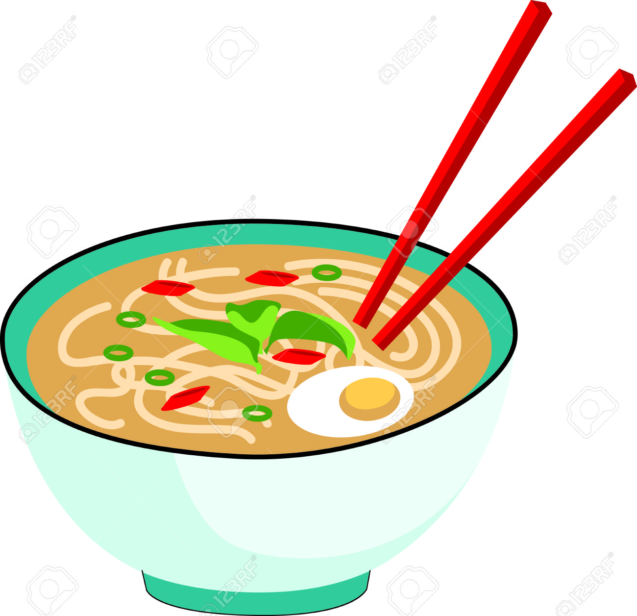 Chinese free download best. Noodles clipart food