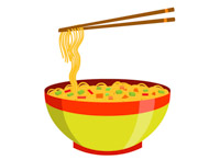 Noodles clipart single. Cliparts free download best